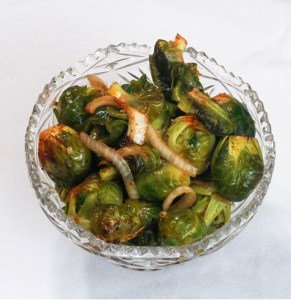 Smoked Brussels Sprouts