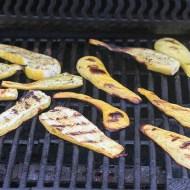 Grilled Squash for Man Food Mondays