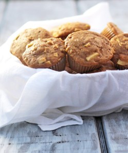 Healthier Apple Muffins