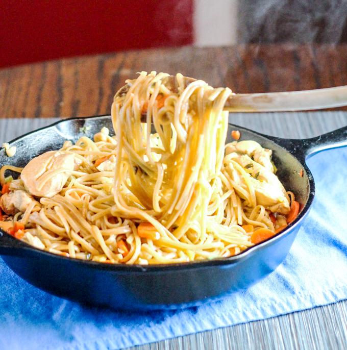 Asian Chicken Pasta