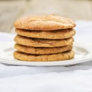 Pumpkin Snickerdoodles for #fillthecookiejar