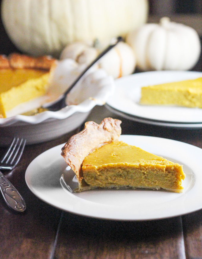 Pumpkin Pie with A Sugar-Free Option plus How to Roast A Pumpkin in Your Crockpot