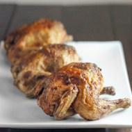 Deep Fried Cornish Hens for Man Food Mondays
