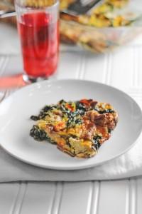 Healthier Breakfast Casserole
