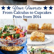 Your Favorite From Calculus to Cupcakes Posts from 2014
