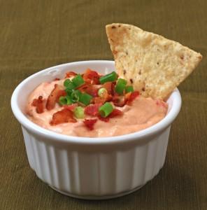 Bacon Tomato Horseradish Dip