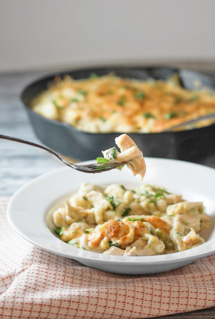 Chicken Pasta Verde