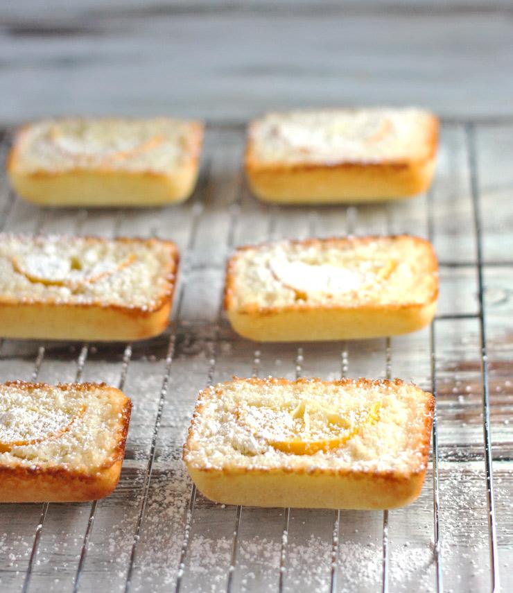 Little Meyer Lemon Tea Cakes