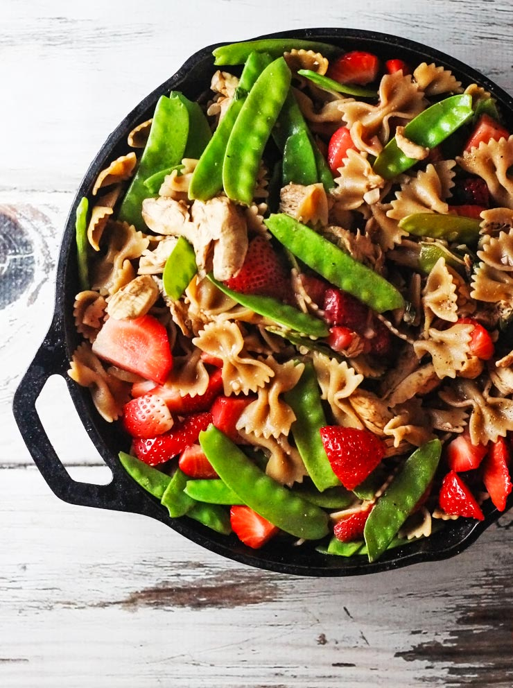 Strawberry Chicken Pasta