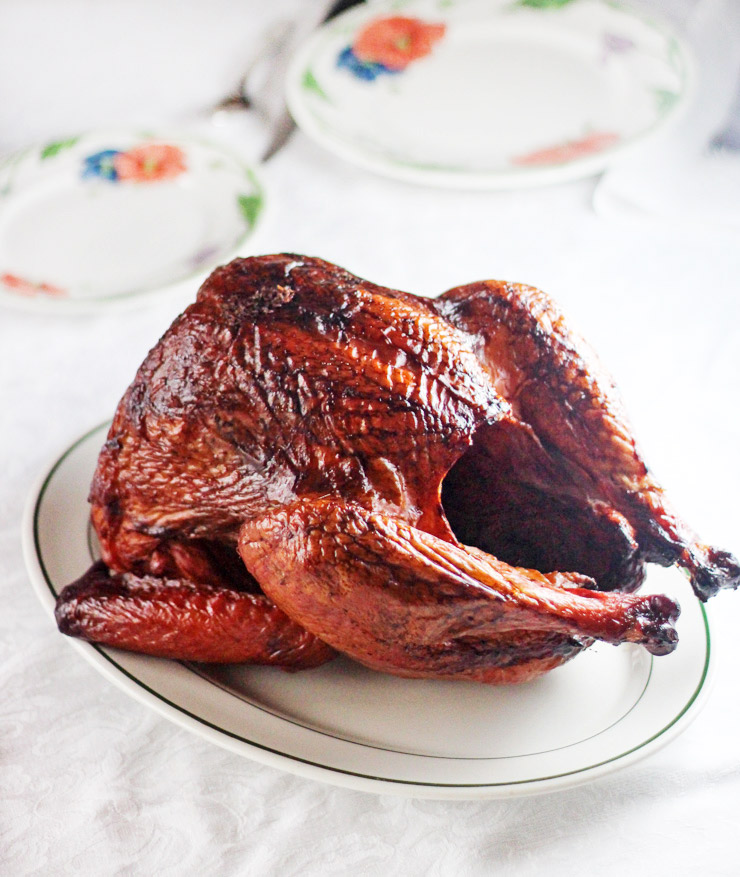 Smoked Orange Ginger Turkey