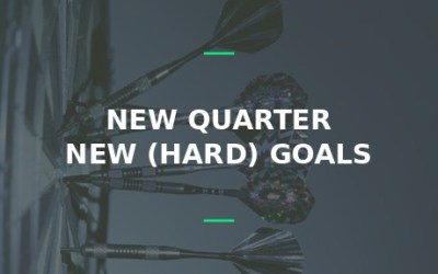 goals for the new quarter 2017