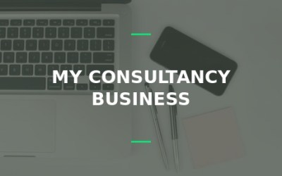 my consultancy business