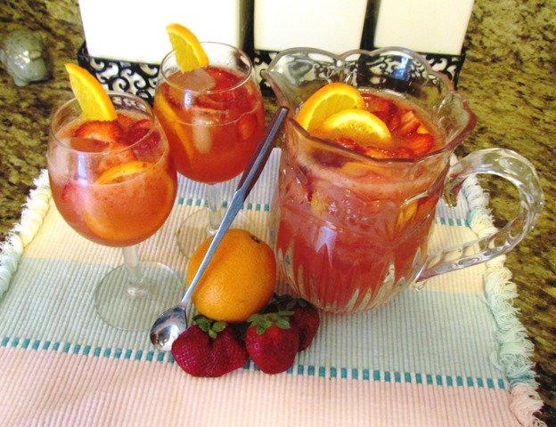 Strawberry Orange Sangria