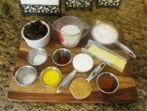 Cinnamon Raisin Scone Ingredients