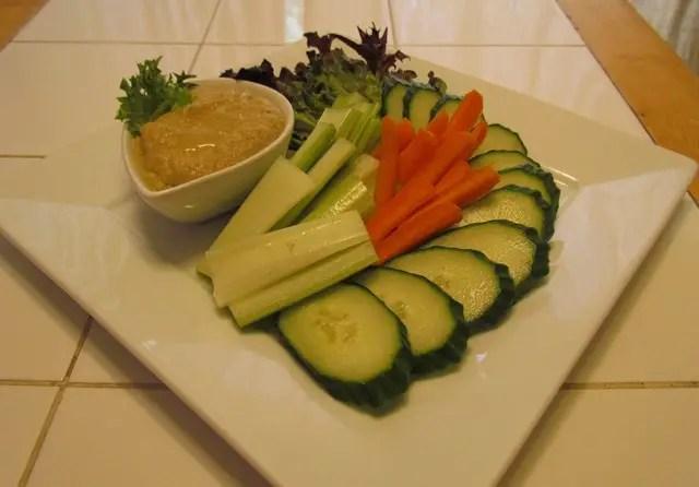 Low Carb Eggplant Hummus