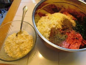 Meatball Mix Panada