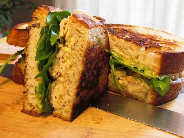 Grilled Honey Dijon Chicken Shallot Bread