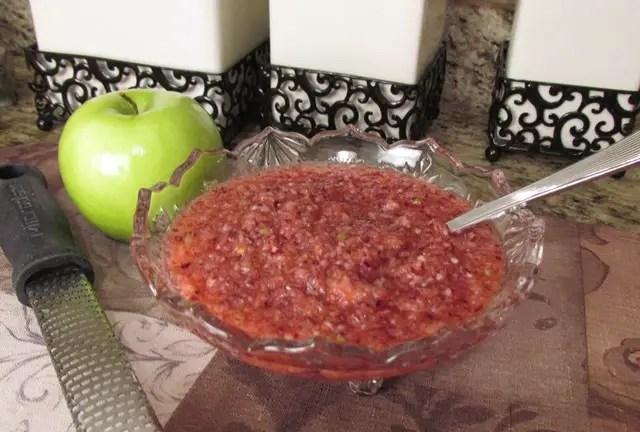 Fresh No-Cook Cranberry Citrus Relish