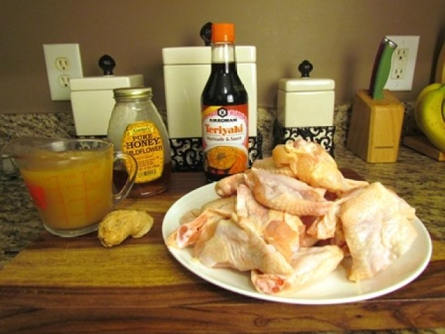 Pineapple Teriyaki Chicken Wings Ingredients