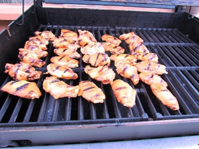 Grilling Wings