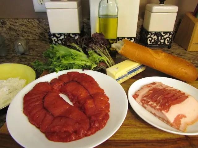 Shad Roe Ingredients