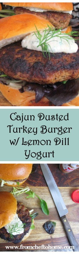 Turkey Burger From Chef To Home Pinterest