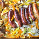 Italian Sausage Potato Sheet Pan Dinner