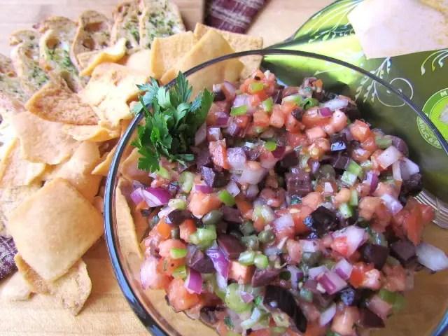 My Original Mediterranean Olive Salsa