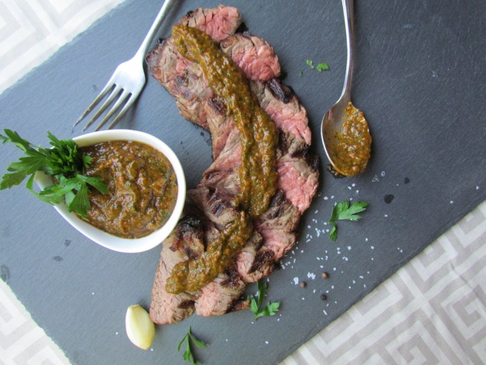tomato chimichurri sauce, From Chef To Home