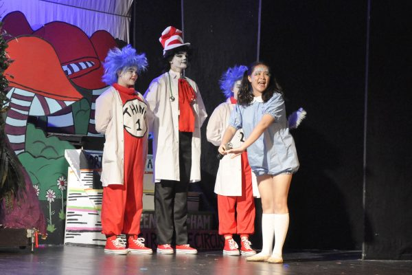 Seussical musical production by Frome Musical Theatre Company