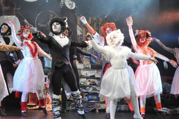 Stage performance of CATS in Frome