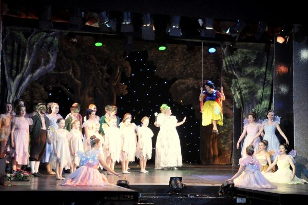 Snow White and teh Seven Dwarfs panto in Frome