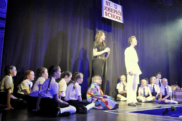 Joseph and the Amazing Technicolour Dreamcoat production at Frome Memorial Theatre