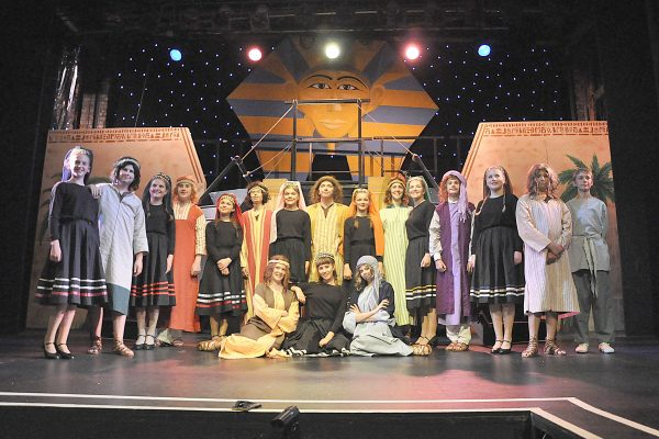 Cast of Joeseph and the Amazing Technicolour Dreamcoat by FMTC