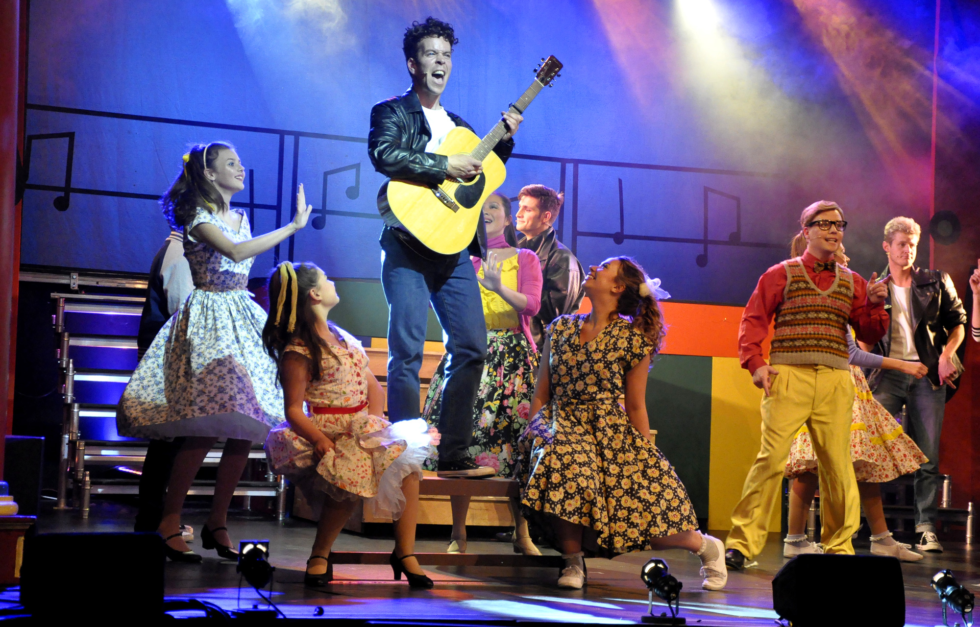 Frome MTC perform Grease the Musical