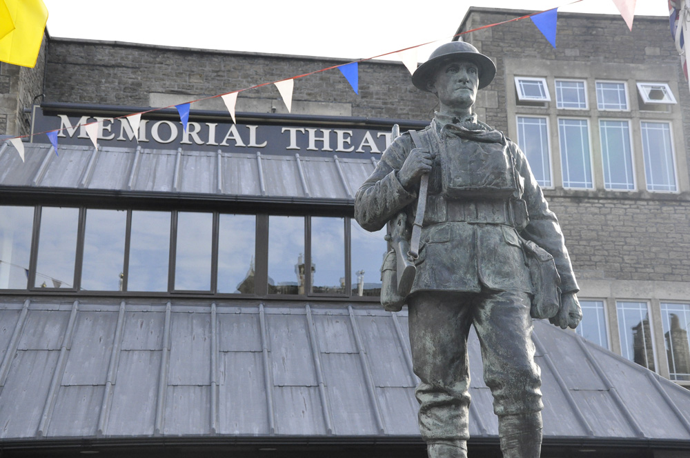 Frome Memorial Theatre outside
