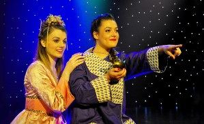 Aladdin pantomime in Frome