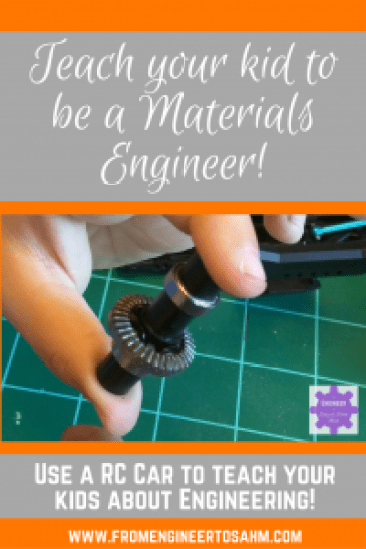 Engineering for Kids | Materials Engineering | How our son's RC Car taught him about Materials Engineering!