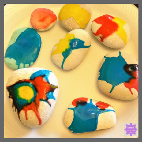 Rock Painting for Kids | Halloween Rock Painting Ideas | Use forces to Paint Spider Rocks!