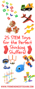 STEM Stocking Stuffers | STEM Gifts for Kids | 25 STEM toys that will not blow your budget!