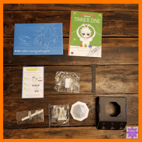 Electrical Circuits for Kids and Playing with the full Spectrum of Light | Tinker Crate Activities