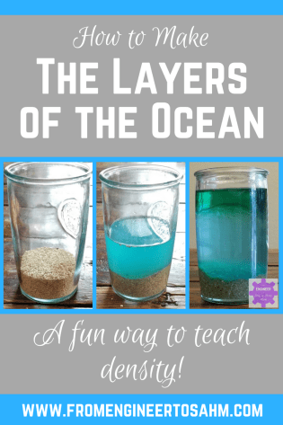 Layers of the Ocean Activity | Density Activity with 3 Different Materials | How to Calculate Density