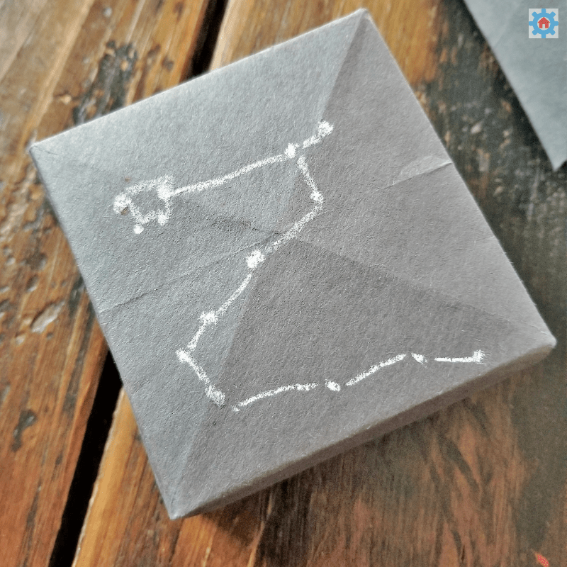 A great constellation science activity for kids! Make your own Draco constellation using fiber optics!