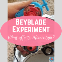 Beyblade Experiment: What affects Momentum?