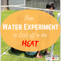 Fun Water Experiment to Cool off in the Heat!