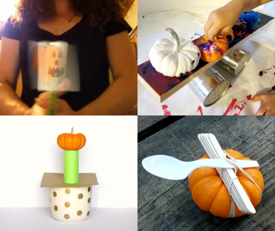 Pumpkin science experiments