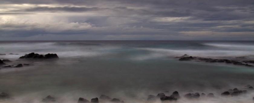 an extended sunset shot from Pine Tree's, Kailua Kona Hawaii