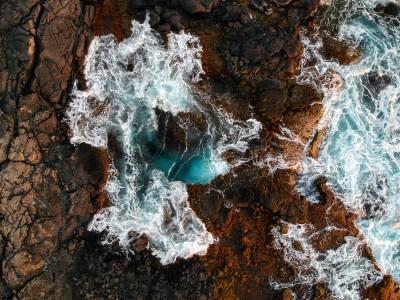 Keahole Coastline Aerial