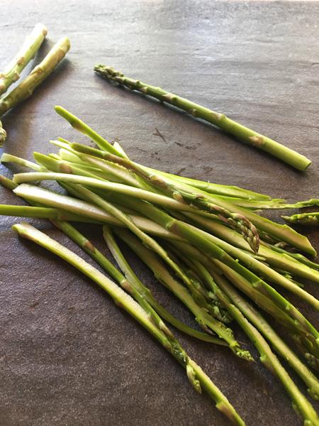 Simple Asparagus Calzones