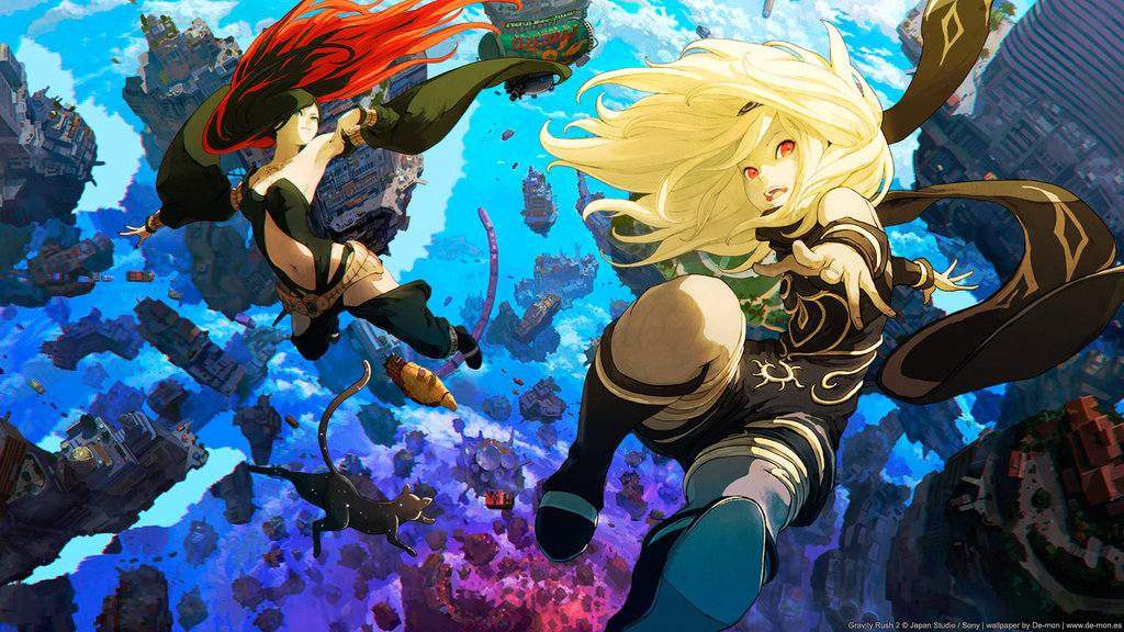 Image result for gravity rush 2 banner